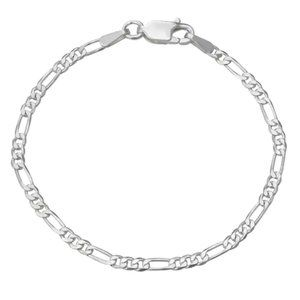 Charming Girl Sterling Silver Chain Bracelet NWT